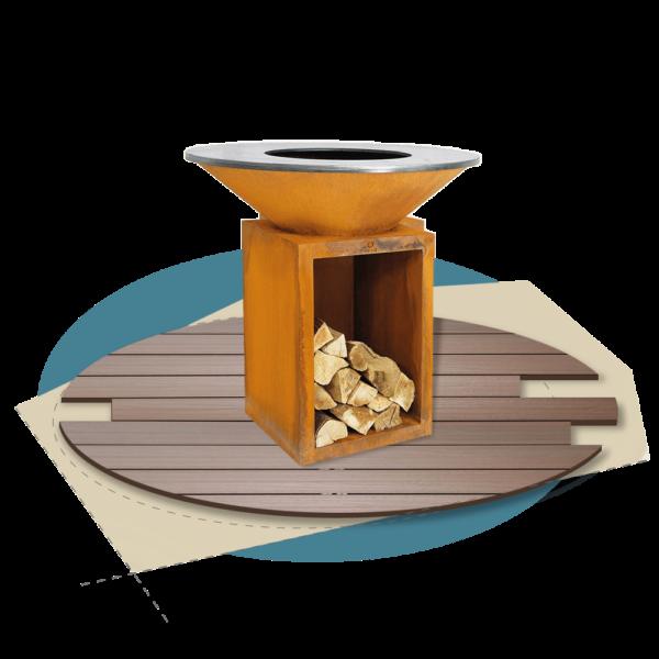 Holzgrills